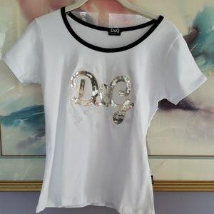 Dolce & Gabbana XL NWTs Tee